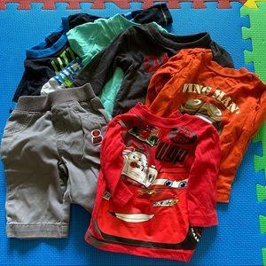 Bundle 6pcs outfits!! 5 tops 1 pants